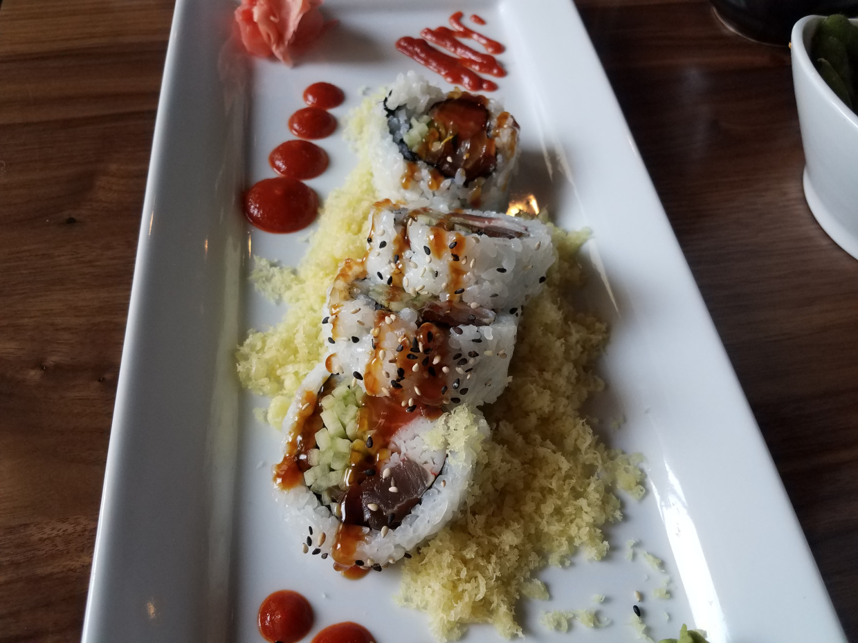 Downtown Detroit: Maru Sushi