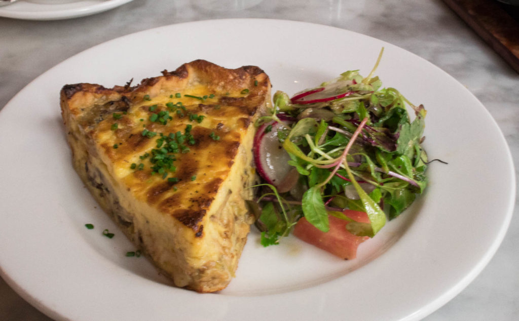 The Quiche from Wright & Co in Detroit, MI. Find the full review at www.thebite2night.com