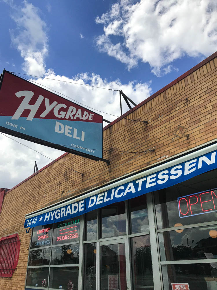 Hygrade Deli in Detroit, MI offers delicious sandwiches, soups, salads, entrees, and breakfast options. Find the full review at www.thebite2night.com
