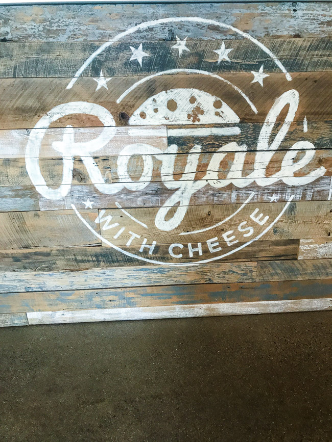 Royale with Cheese in Detroit, MI opened its doors earlier this year in April. With a unique burger, tots, and sandwich menu, Royale with Cheese features bold flavors and sophisticated toppings.