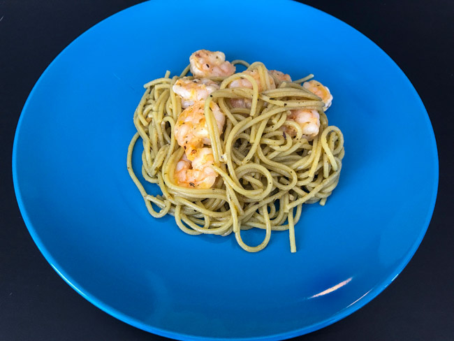 This recipe for my Garlic lemon butter shrimp pasta is quick and easy. It only requires a few ingredients and is versatile enough to customize. Find the full post at www.thebite2night.com