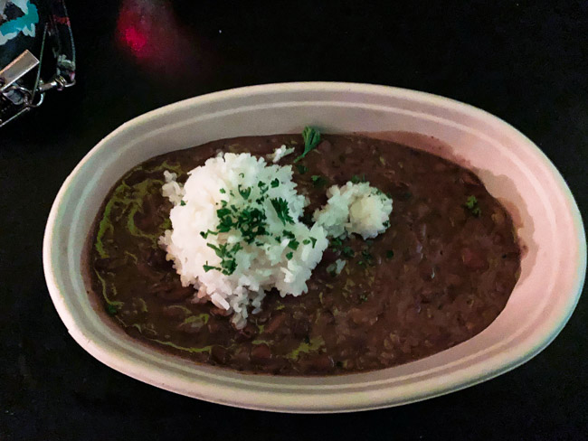 The Red Beans & Rice from Gabriel Hall is exactly what you would expect for a Louisiana classic. Find the full post at www.thebite2night.com