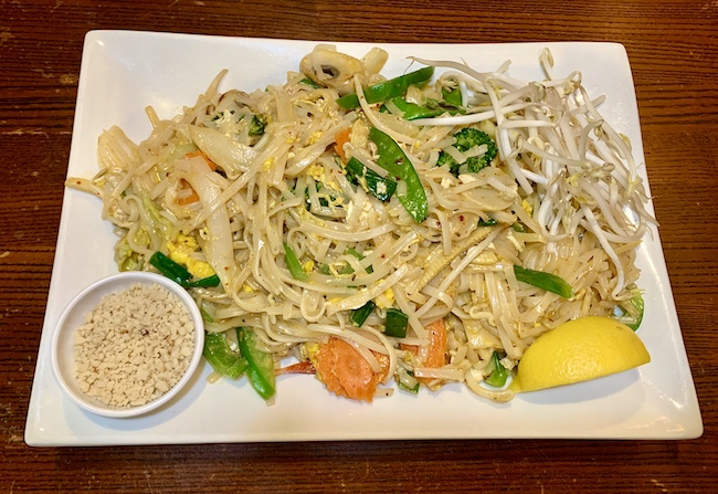 Top 3 dishes at Coastal Thai