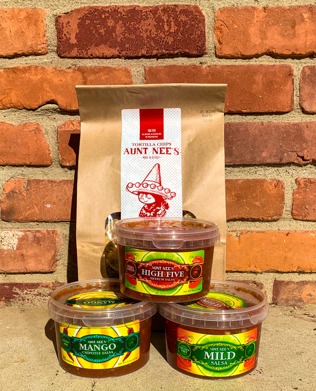 Aunt Nee's Chips and Salsa, Detroit MI.