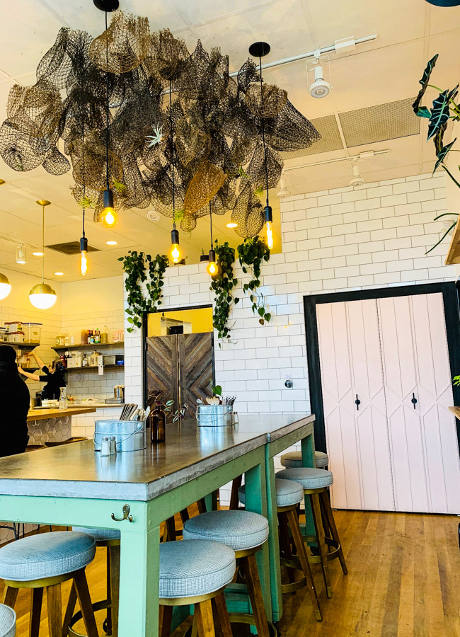 From the owners of The Farmer's Hand, Folk opened it's doors in April of 2018 in Detroit MI. Offering seasonal dishes using fresh and nourishing ingredients, Folk is creating feel good food.