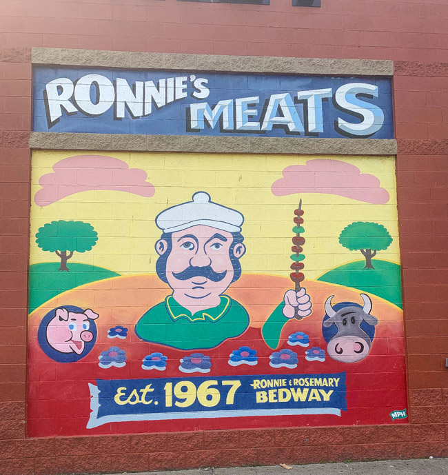 Ronnie's Meats, Eastern Market Detroit, MI. Find the full review at www.thebite2night.com