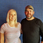 Vegetarian Detroit Podcast host Jewell Dziendziel and Brad Greenhill, Chef and Owner of Magnet and Takoi in Detroit