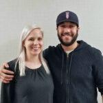 Vegetarian Detroit podcast host Jewell Dziendziel and Lamar Farhat of Leila, a modern Lebanese restaurant in Capital Park, Detroit